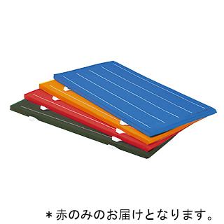 連結再生ノンスリップマット 赤 (90×180×5cm) T-2824R (JS221821)【送料区分:7】