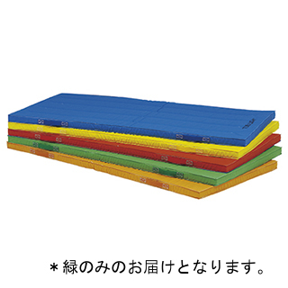 エコカラー合成スポンジマット 5cm厚90×180×5cm 緑 T-1111G (TOL230959)【送料区分:7】