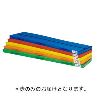 抗菌エコ連結ハーフマット 赤 T-2586R (TOL230975)【送料区分:7】【QBI25】