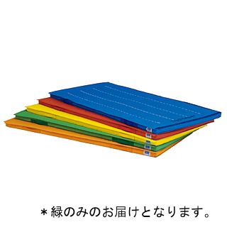 四方連結エコノンスリップマット 緑 T-2619G (TOL230979)【送料区分:7】