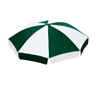 エバニュー パラソルNSP-12 緑×白 EHC150_920 特殊送料【ランク:C】 【ENW】 【QCA04】