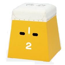 カラーとび箱 黄 (ENW231556/EKF317-400)