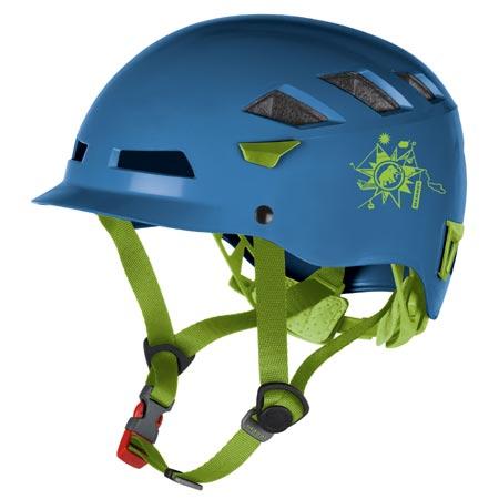 El Cap Kids nautica-basilic【マムート ヘルメット】 (MAT235591/2220-00100-5391)【QBI25】