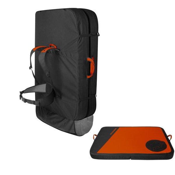 Crashiano Pad dark orange【マムート マット パッド】 (MAT235623/2290-00800-2088)【QCA04】