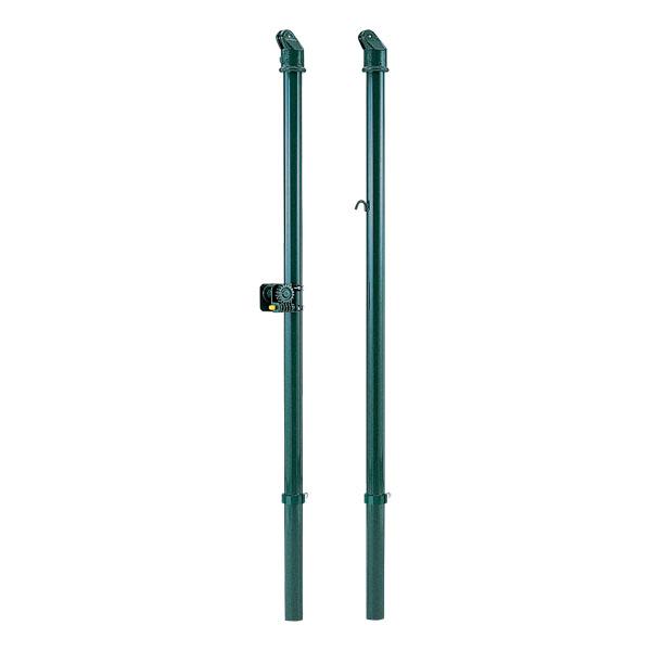 一体型バレー支柱(屋外用)42 抜差式 D1604 (DAN235932)【送料区分:L-1】