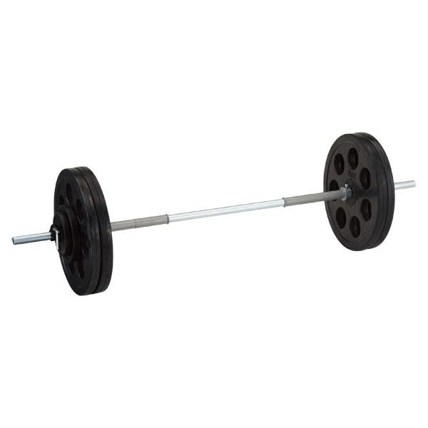 穴付ラバーバーベル28 50kg D5004 (DAN235946)【送料区分:L-1】【QBI35】