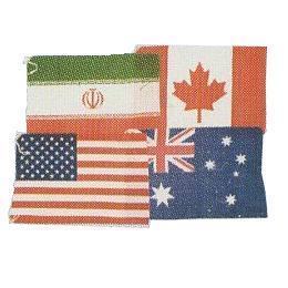 最新な 万国旗40ヶ国 [分類:応援・イベント用品](ES30974/S-400), タガジョウシ c3afd001