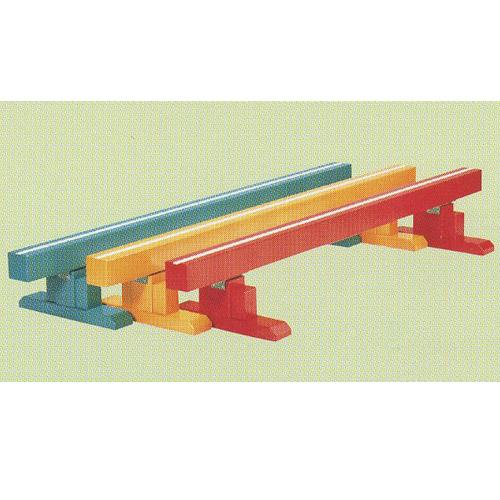 カラー平均台 [分類:運動会用品](ES31303/S-409)