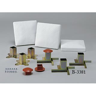 ベース用埋込金具 (JS34947/B-3381)【分類:野球 試合用品】【QBI35】