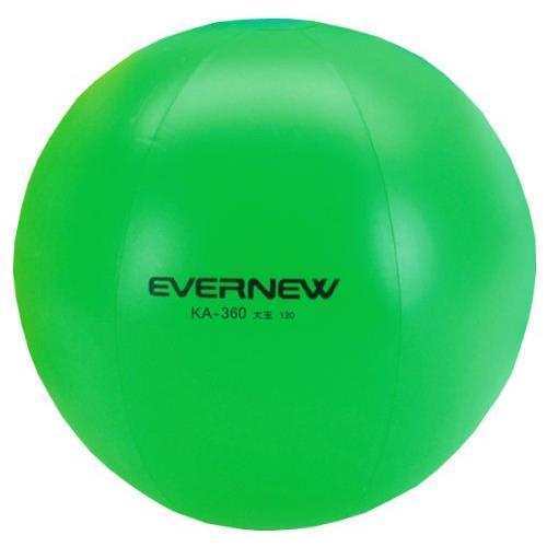 カラー大玉120(緑) (JS83190/EKA360)【分類:運動会】【QBI07】