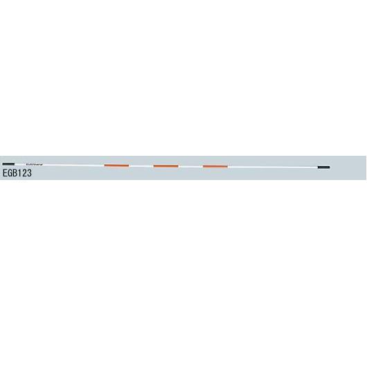 クロスバー4m練習用 (JS83329/EGB123)【分類:陸上競技 高跳台】