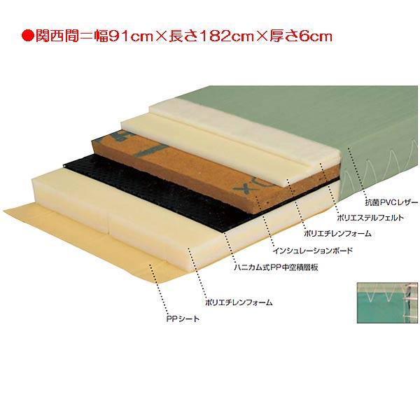 柔道用畳ソフト EKR0022 (JS83555)【送料区分:2G】【QBI35】