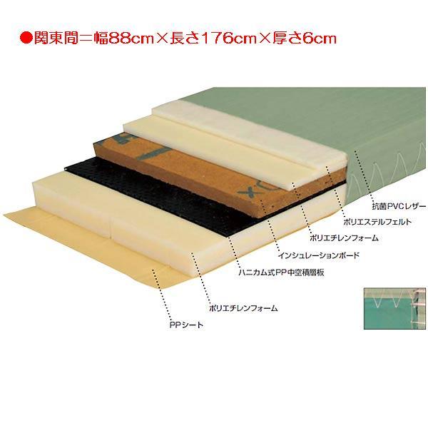 柔道用畳ソフトすべり止付 EKR0051 (JS83556)【送料区分:2G】【QBI35】