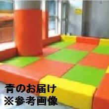 柔道 畳 畳用品 体操 保護 壁緩衝マット(青) EKR020 特殊送料【ランク:お見積り】 【ENW】 【QCA04】