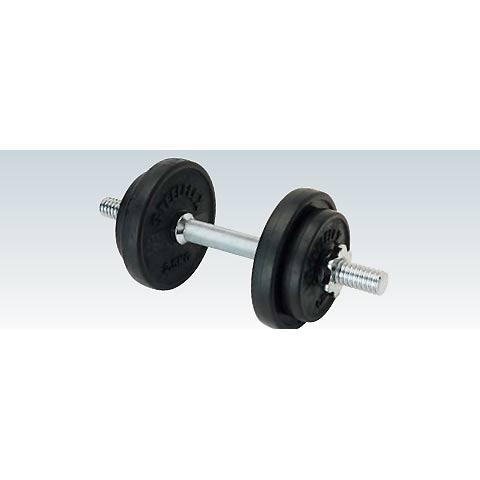 トレーニング用品 ウエイト トレーニング 練習 ラバーダンベル10kgセット ETB127 特殊送料【ランク:C】 【ENW】 【QCA04】