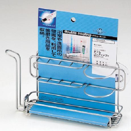 パール金属 日本メーカー新品 バススタイル ダブルコーティングハブラシホルダー H-8833 QCB27 AP91292 超定番