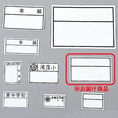 ワンタッチネーム(100枚入)枠のみ:8×13cm (ES97883/S-536)