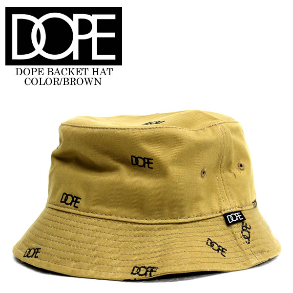 DOPE and dope bucket Hat AllOver Embroidered BucketHat Brown Street HIPHOP  dance popular caps cap Hat mens Cap Snapback Luc Hat Cap a683f132a6d