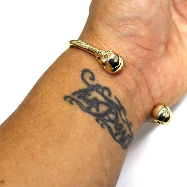 Dope Doped Bracelet Brainwash Cuff Gold Bracelets Mens Accessories Street Hiphop Dance Pants Chino Denim Cap Sweat Snapback Luc Knit
