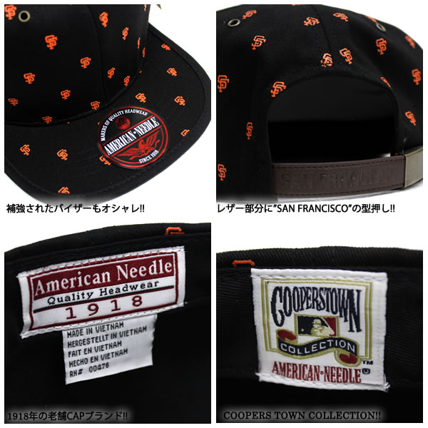 f2aed2a93 ... AMERICANNEEDLE American needle U.S imported from LIMITED EDITION  MAESTRO SF GIANTS baseball cap CAP MLB major