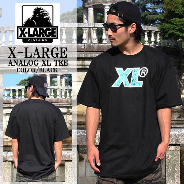 706752056fd Large XLARGE extra large short sleeve T shirt XL ANALOG analog Ozzy black  M16B1101 Black BLACK logo men s women s fashion street Skate work hip hop  HIPHOP ...