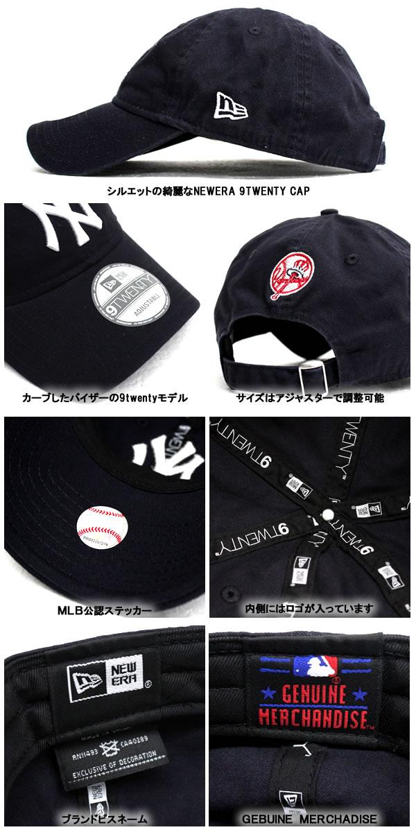 322b08241cf NEWERA new era Cap 9 TWENTY New York Yankees 6 PANEL MLB New York Yankees  10060031 Navy Cap CAP Hat hats sports baseball baseball adjuster men s  women s ...