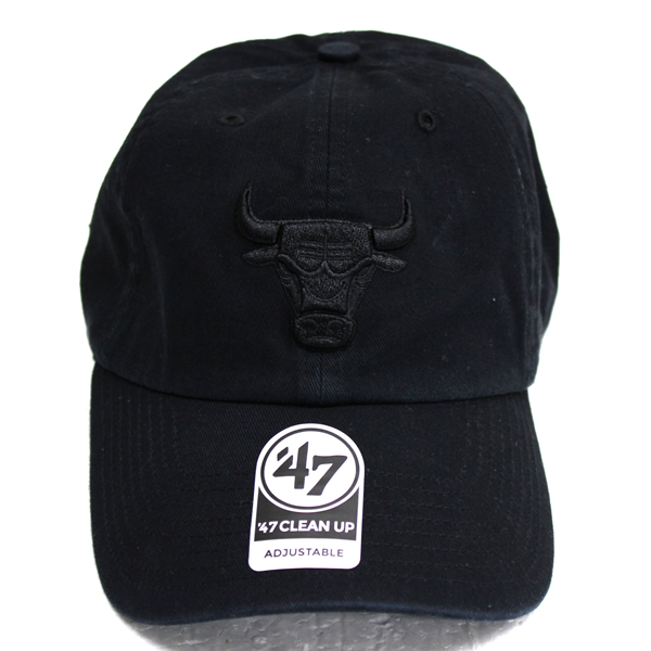 d1b572270b9 Hip-hop same day shipment of 47BRAND fourteen seven brand NBA CHICAGO BULLS  Chicago Bulls cleaning up cap black black CLEAN UP low cap CAP hat hat men  gap ...