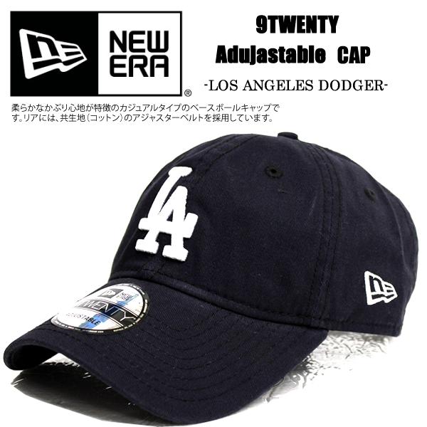 5044e77d4 NEWERA new gills cap navy 9TWENTY Los Angeles Dodgers 6PANEL MLB Los ...