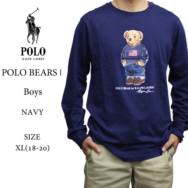 6a96de8d40556 Clothes tops vintage cotton is stylish in POLO RALPH LAUREN POLO BEAR polo  Ralph ローレンポロ ...