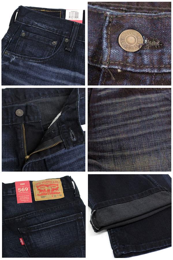 d5c23f25229 Introduce / product description. LEVI's and Levi's LEVI's 569 SITS BELOW  WAIST LOOSE FIT STRAIGHT LEG Levi's 569 loose straight jeans ...