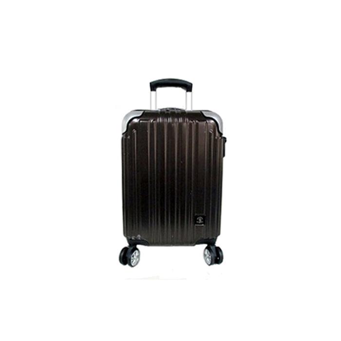 SANTA BARBARA ウイングスカンパニー ファスナーハードキャリー 機内持ち込みスーツケース カーボンブラッ キャリーバッグ ハードスーツケース キャリーケース 小型 Sサイズ