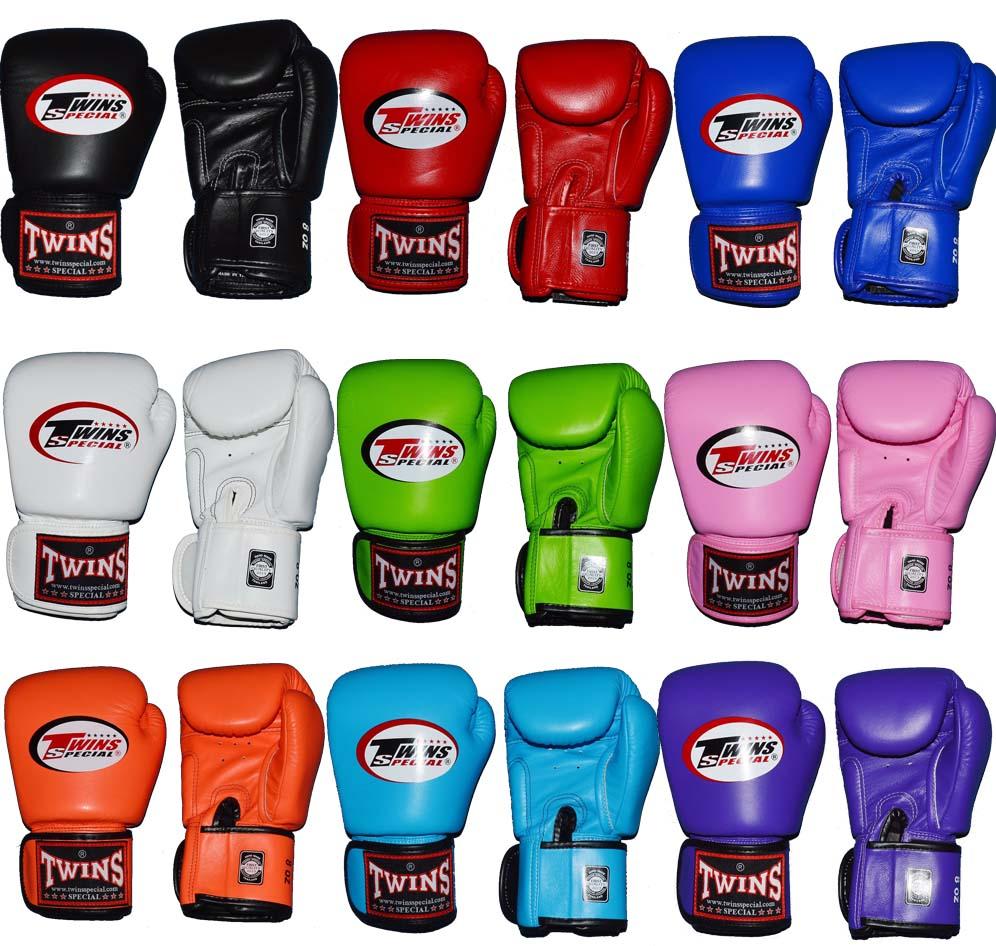 TWINSツインズ 本革製ボクシンググローブ 10oz マジックテープ式
