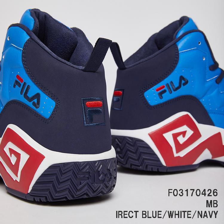 F03170426 MB マッシュバーン DIRECT BLUE/WHITE/NAVY