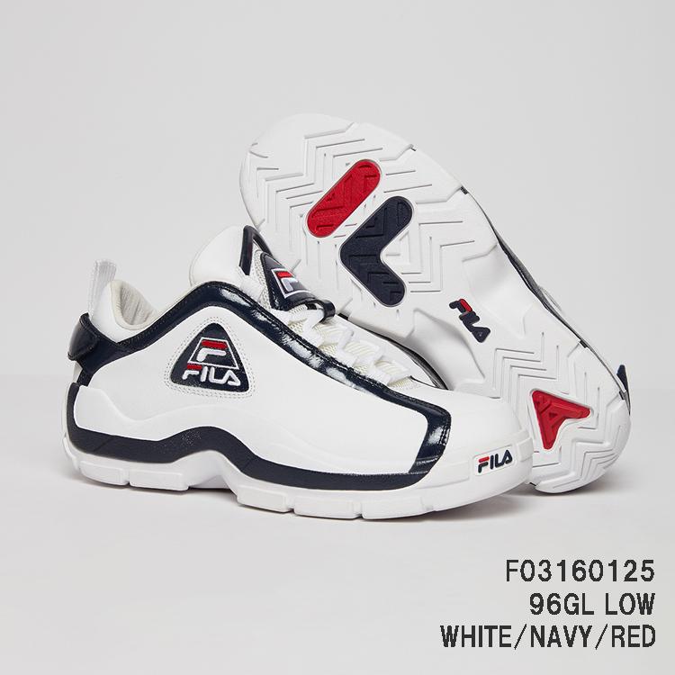 F03160125 96GL LOW96グランドヒル ロウ WHITE/NAVY/RED