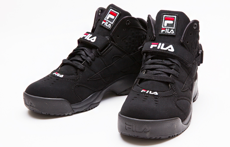 FILA(フィラ) MENS スポイラー FHE134[BLACK/WHITE/FILARED][バスケ][バッシュ][カジュアル][ストリート][復刻] バスケット
