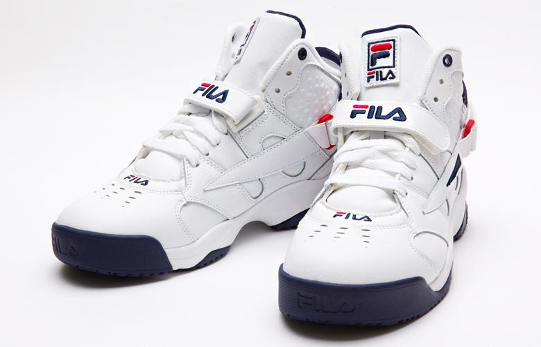 0bba0baad95e FILA (Fila) MENS spoiler L FHE135 WHITE FILANAVY FILARED   basketball    basketball shoes   casual   street   reproduction