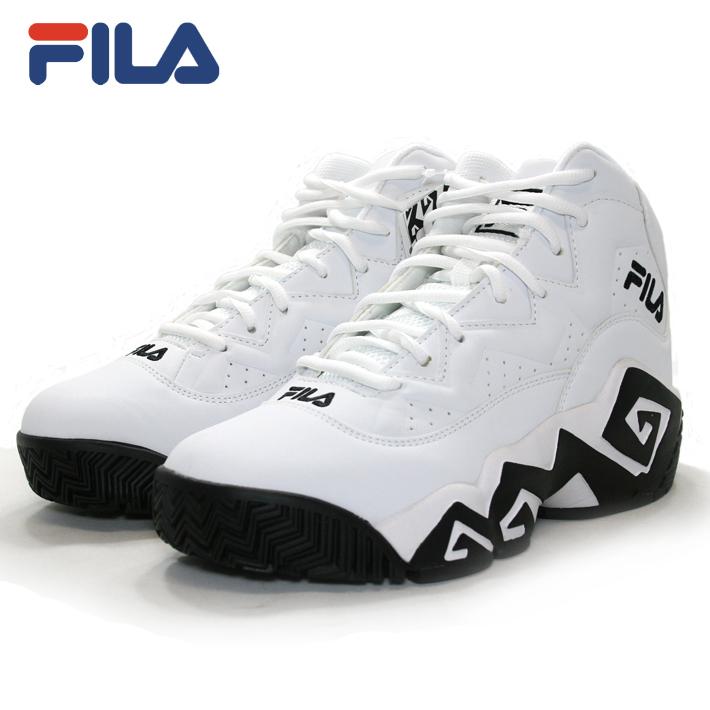 FILA(フィラ)MB FHE102 005 [WHITE][バスケ][バッシュ][カジュアル][ストリート][復刻] バスケット