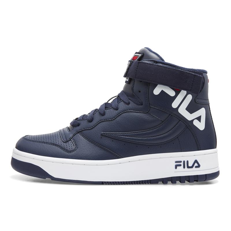 FX-100 ビッグロゴ F02300422 ネイビー/レッド/ホワイト 2018AW メンズ バスケ バッシュ カジュアル ストリート FILA(フィラ)