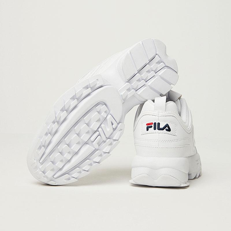 FILA(フィラ) ディスラプター2 DISRUPTOR 2 F02151072 男女兼用 UNISEX ホワイト レディース HERITAGE 厚底スニーカー