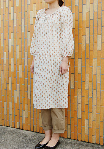 2way smock pull-over pattern