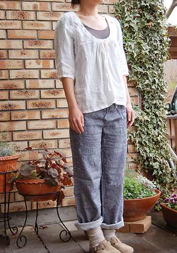 Easy pants pattern