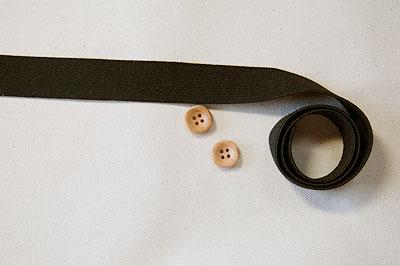 2 cm width flat rubber