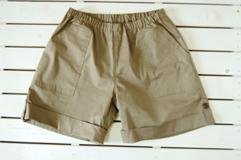 Rollup short pants Burberry stretch Kit