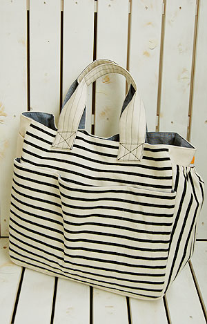 Mothers tote bag paper pattern