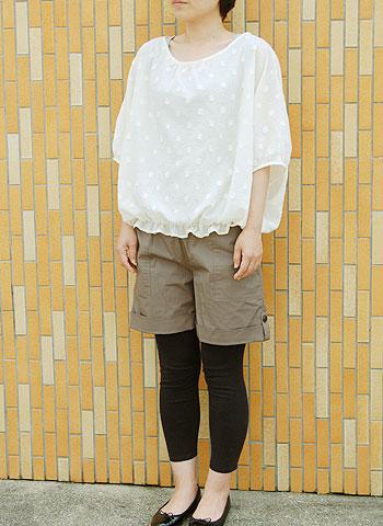 Dolman blouse pattern