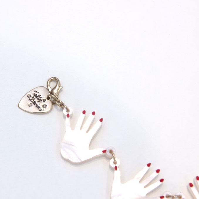 Tatty Devine(tattidibain)Seance Hands Bracelet手镯1620005(取消、退货不可)