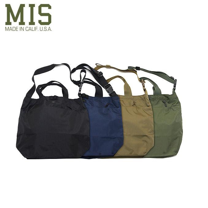エムアイエス 2ウェイショルダーバッグ M.I.S 2Way Shoulder Bag 4color