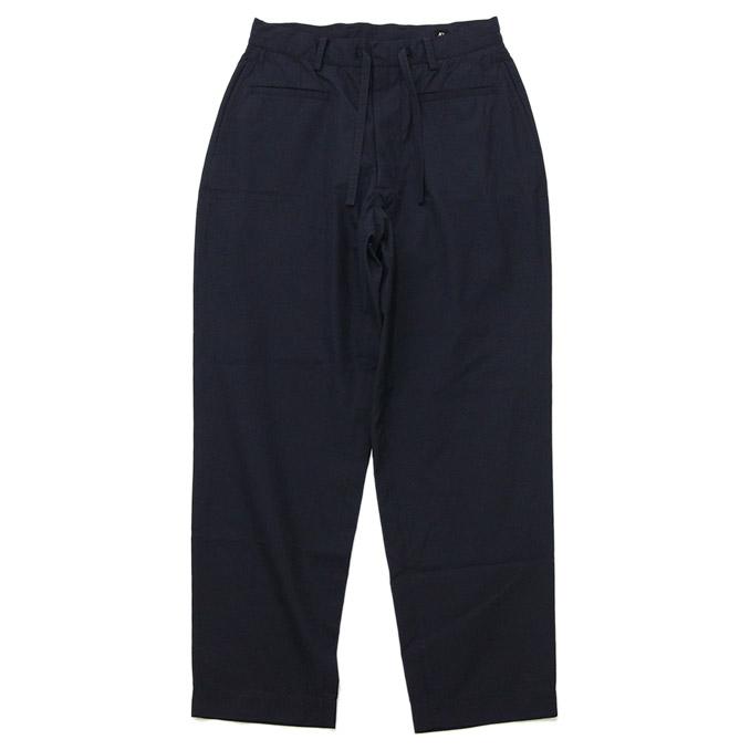 キャプテンサンシャイン KAPTAIN SUNSHINE Traveller Trousers Navy トラベラートラウザーズ パンツ