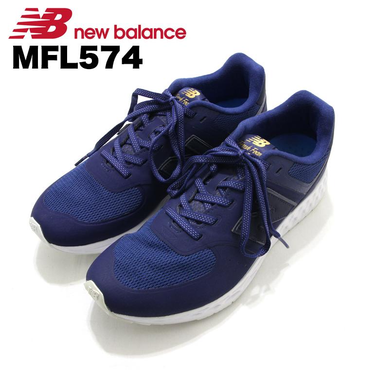 ニューバランス NewBalance MFL574 ブルー Blue スニーカー Sneaker シューズ Shoes