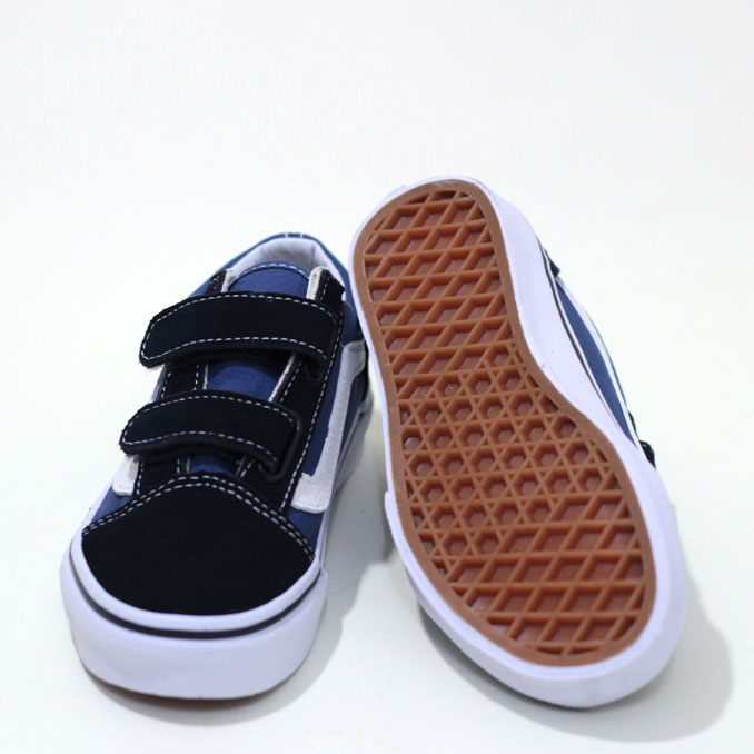 6edbdb48e2 fill store  VANS (vans) Kid s Old Skool V kids old school Navy×True ...